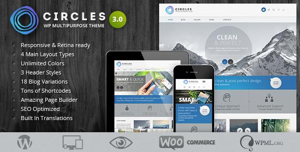 Circles WordPress Theme