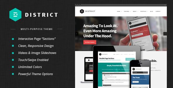 District WordPress Theme