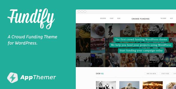 Fundify WordPress Theme