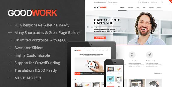 GoodWork WordPress Theme