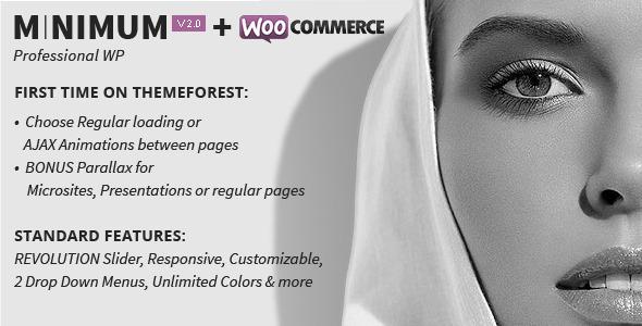 Minimum WordPress Theme