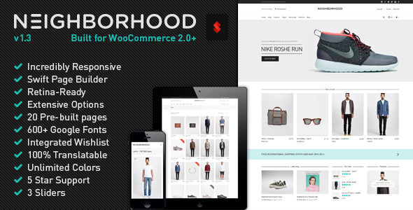 Neighborhood WordPress Theme