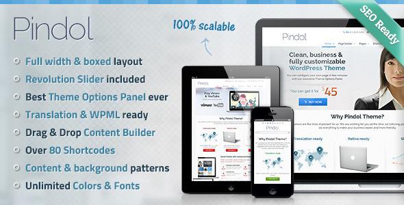 Pindol WordPress Theme