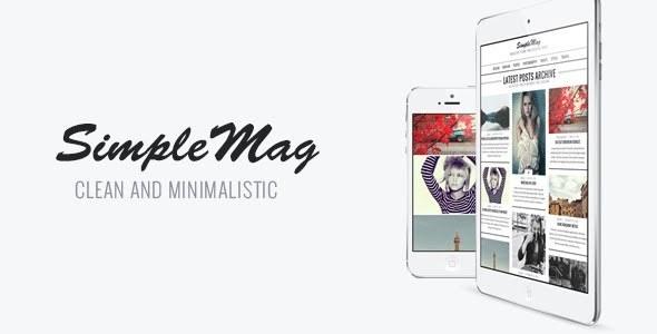 SimpleMag WordPress Theme