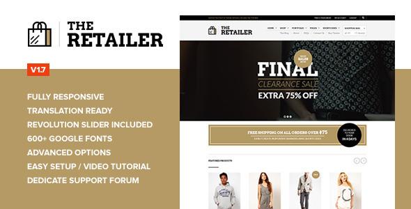 The Retailer WordPress Theme
