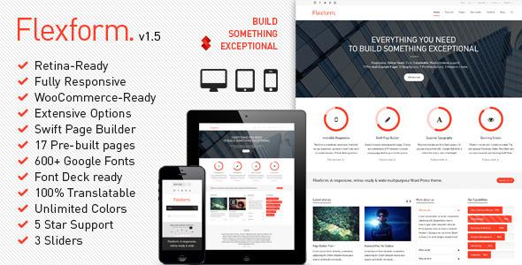 Flexform WordPress Theme