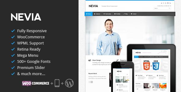 Nevia WordPress Theme